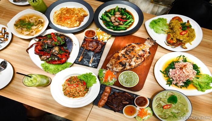Popuar Visit Thai Food Restaurant in Johor Bahru