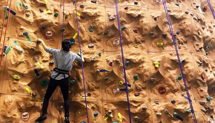 Top Popular Place for Rock Climbing Wall Activities In Kuala Lumpur
